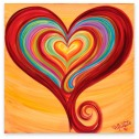 heart of compassion art